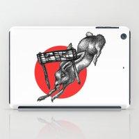 The Hare Wins At Last iPad Case