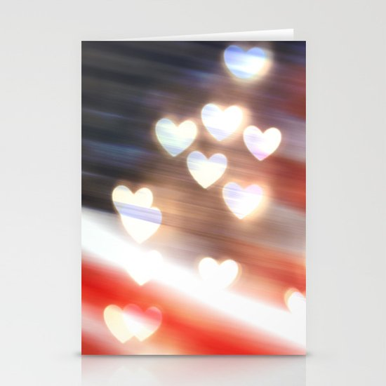 A Love as Big as America Stationery Card