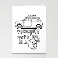 Mini Copper Classic. Thought for being in a box 152 ft³. Stationery Cards