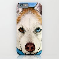 iPhone & iPod Case featuring Rio the Siberian Husky  by WOOF Factory