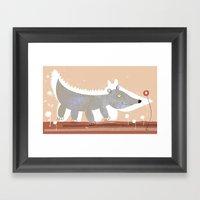 Animal Cepia Framed Art Print