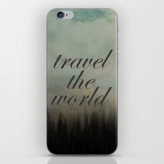 Travel the world iPhone & iPod Skin