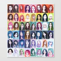 Muses, Full Series Canvas Print