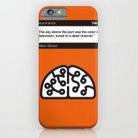 No030 MY Neuromancer Book Icon poster iPhone 6 Slim Case