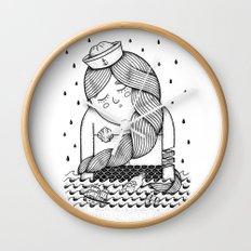 Amour Éternel (Elle) Wall Clock