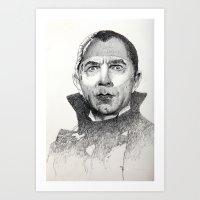 Dracula Bela Lugosi Art Print