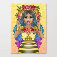 Buzz Buzz Canvas Print
