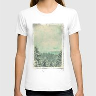 Fading Dreams Womens Fitted Tee White SMALL