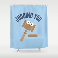 Held In Contempt Shower Curtain