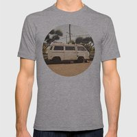 Vanlife  Mens Fitted Tee Athletic Grey SMALL