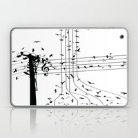 Morning song birds Laptop & iPad Skin