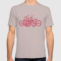 It's WHEELIE cool Mens Fitted Tee Cinder SMALL