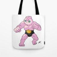 Jigglychoke #001 (No Tex… Tote Bag