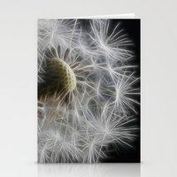Dandelion Frost Stationery Cards