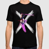 Psylocke Mens Fitted Tee Black SMALL