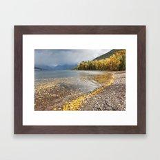 Lake McDonald Framed Art Print