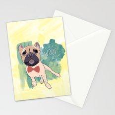 Frenchie Art. Bruno. Stationery Cards