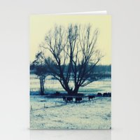 Winter  - JUSTART © Stationery Cards
