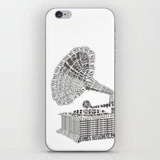 Music just for you iPhone & iPod Skin