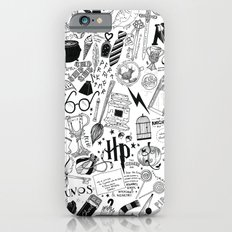 Hogwarts, Hogwarts, Hoggy Warty Hogwarts iPhone 6 Slim Case