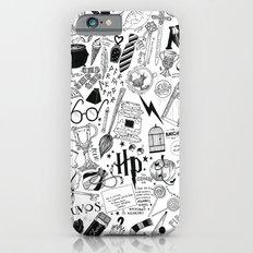 Hogwarts, Hogwarts, Hoggy Warty Hogwarts iPhone 6 Slim Case