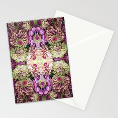Dark floral Stationery Cards