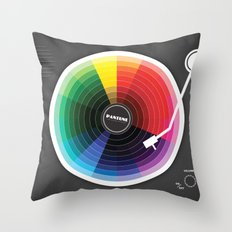 Pantune - The Color Of S… Throw Pillow