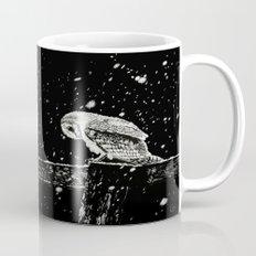 Snowfall at Night (Owl) Mug