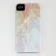Marble Art V10 #society6 iPhone (4, 4s) Slim Case