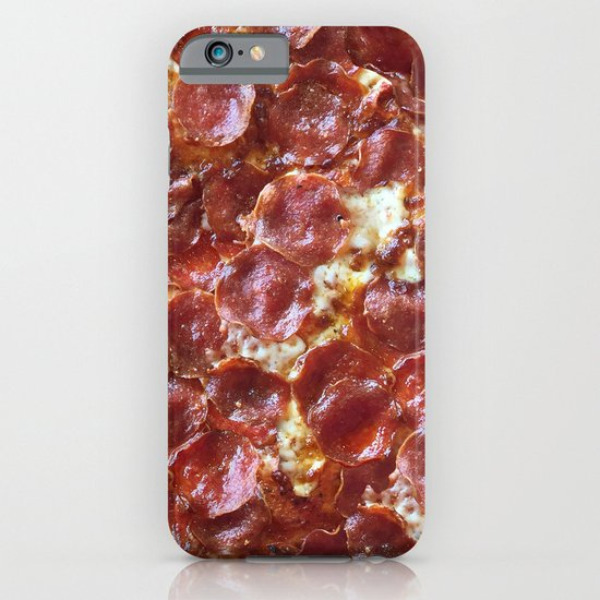 Pepperoni Pizza iPhone & iPod Case