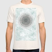 ICELAND MANDALA Mens Fitted Tee Natural SMALL