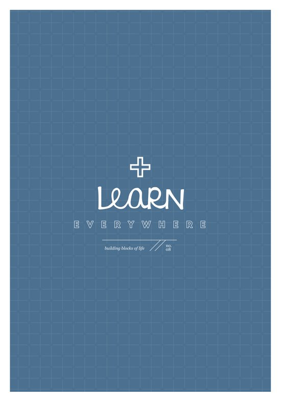 Learn Everywhere Art Print