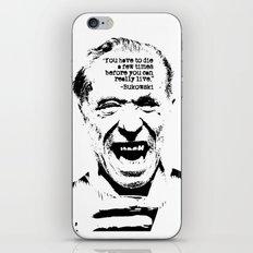 Charles Bukowski Quote Life iPhone & iPod Skin