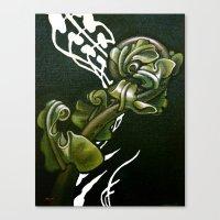 Kiokio - Unfolding Fern Canvas Print