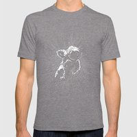 Plummet Mens Fitted Tee Tri-Grey SMALL