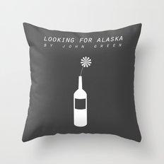 looking for alaska Throw Pillow