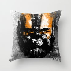 Bane Rhymes with Pain Throw Pillow