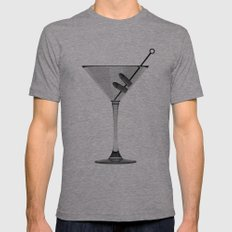 The Great Gatsby Mens Fitted Tee Athletic Grey SMALL