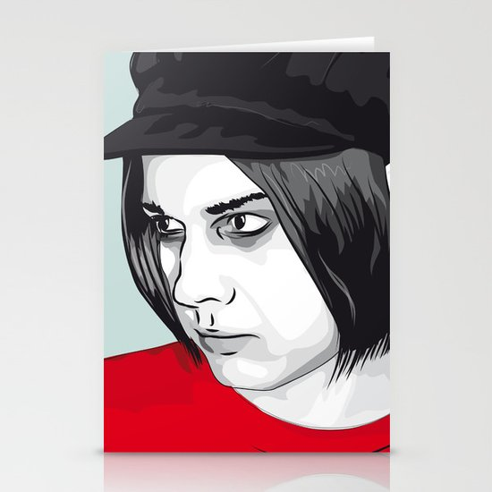 JACK WHITE Stationery Card