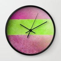 Color Joy V Wall Clock