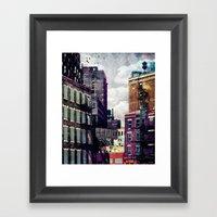 The Rooftop #2 Framed Art Print