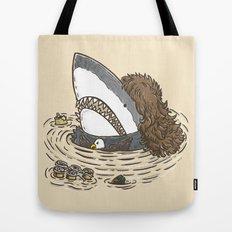 The Mullet Shark Tote Bag