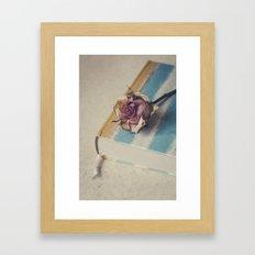 The Book Of Love III Framed Art Print