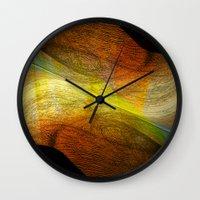 Abstraction VIII Wall Clock