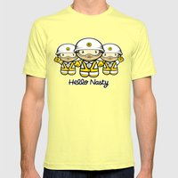 HELLO NASTY Mens Fitted Tee Lemon SMALL