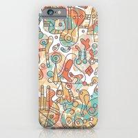 iPhone & iPod Case featuring Schema 19 by C86   Matt Lyon