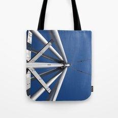 Sky and steel Tote Bag