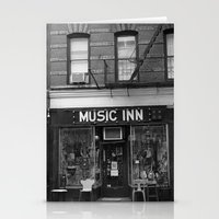 'Music Inn' New York Stationery Cards