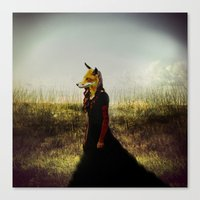 Eyes On The Prize | Fox … Canvas Print
