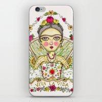 Frida Kahlo Viva La Vida iPhone & iPod Skin